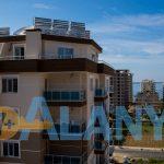 Аланья, Махмутлар. Апартаменты 1+1. Строящийся объект. Вид с балкона.