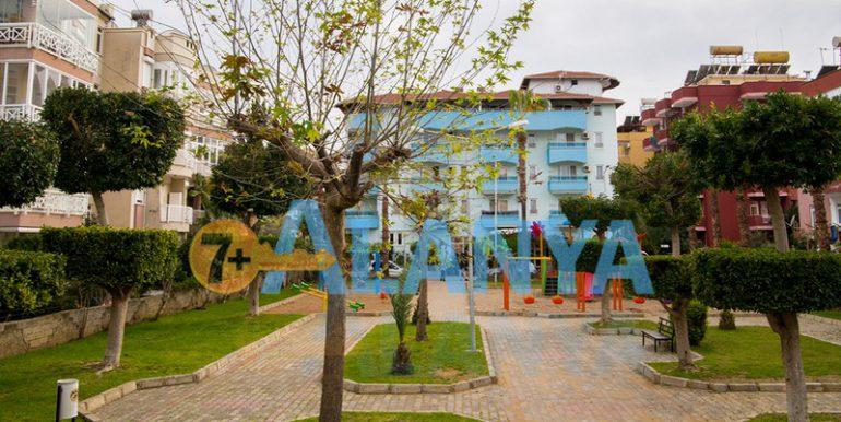 Недвижимость в Аланье. Апартаменты 2+1, детский парк во дворе.