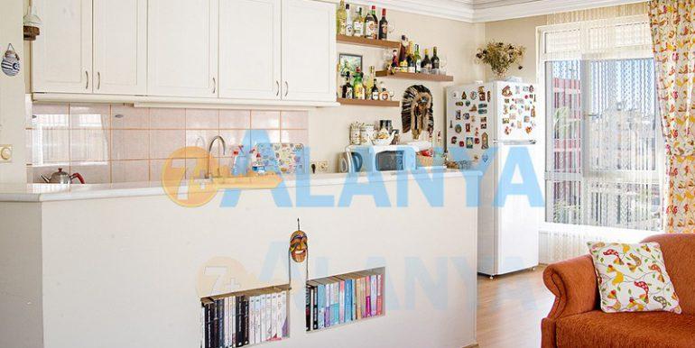 Недвижимость в Аланье. Апартаменты 2+1, кухня.