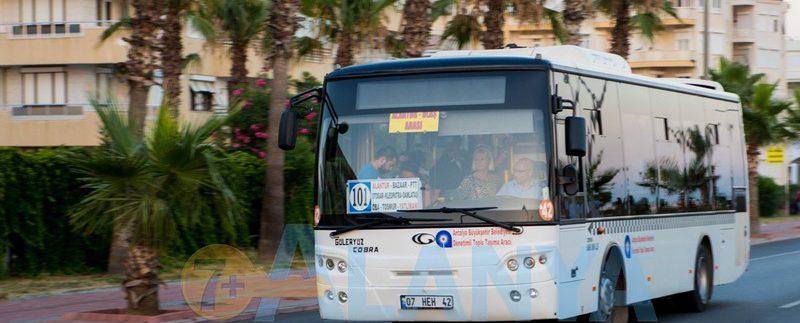Аланья. Турция. Фото Маршруты автобусов в Аланье