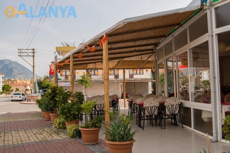 Аланья, Турция фото города. Кафе в районе Оба, Аланья.