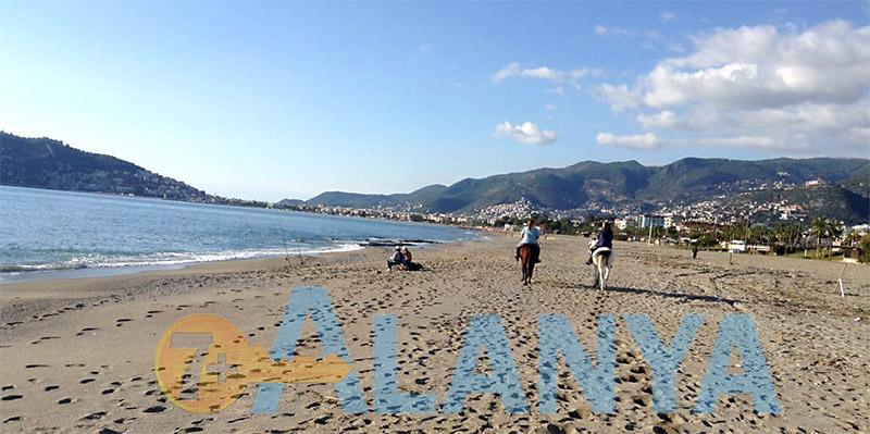 Декабрь в Аланье - пляж