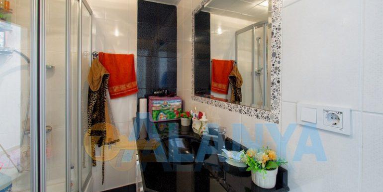 Недвижимость в Аланье. Квартира с мебелью и бытовой техникой. Ванная.