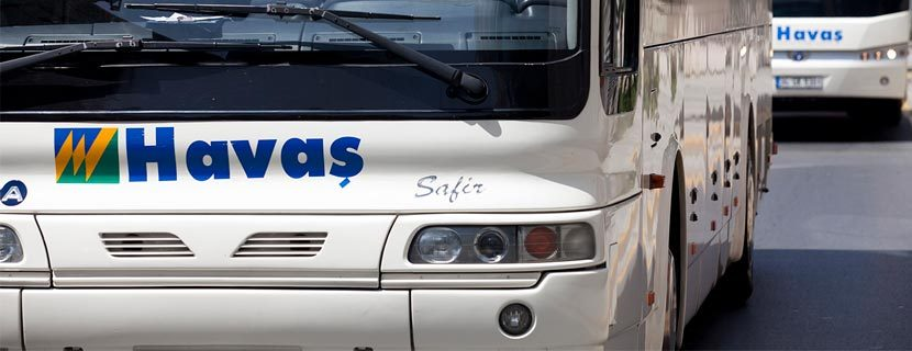 Трансфер до аэропорта Газипаша - автобусы Хаваш