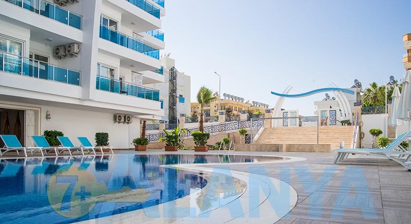 Аланья, Турция фото. Аренда квартир и апартаментов в комплексе с бассейном.