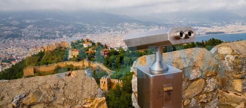 Аланья, Турция фото. Крепость. Внутри крепости. Смотровая площадка.