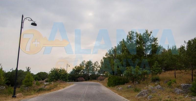 Аланья, Турция фото. Крепость. Дорога от крепости.