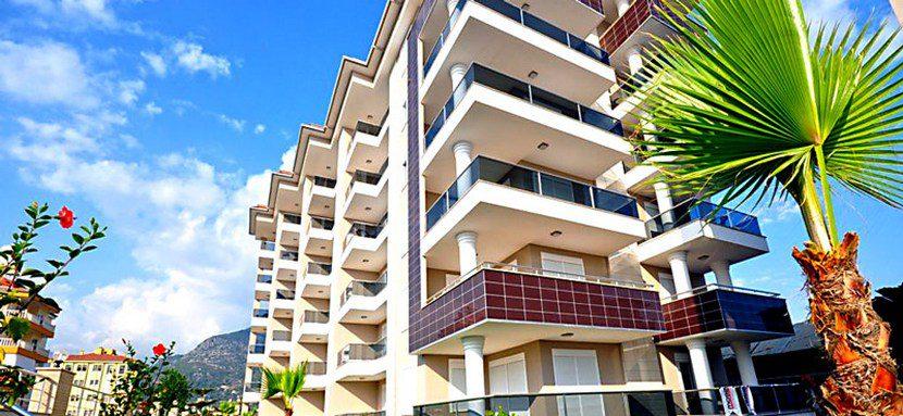 Недвижимость в Аланье, Кестель. Вид на море из каждой квартиры.