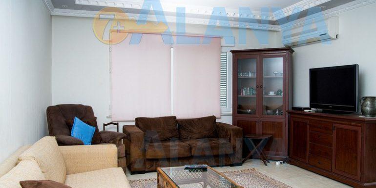 Недвижимость в Аланье, Тосмур. Квартира 2+1. Гостиная.
