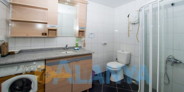 Недвижимость в Аланье, Тосмур. Квартира 2+1. Ванная комната.