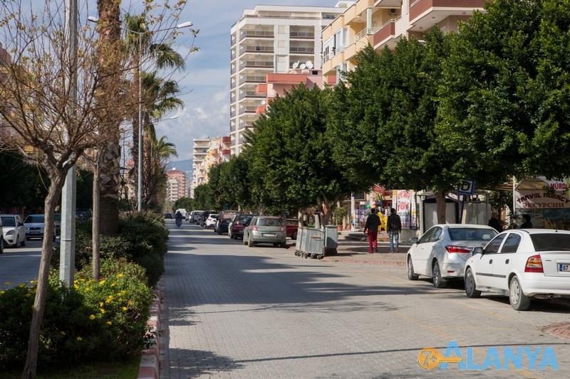 Махмутлар, Турция, улицы в Махмутларе фото