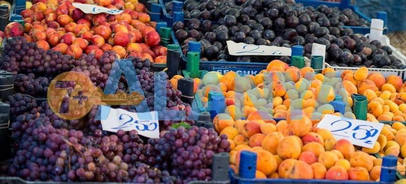 Турция, Аланья. Фрукты в Августе недорого. Фото, цены.
