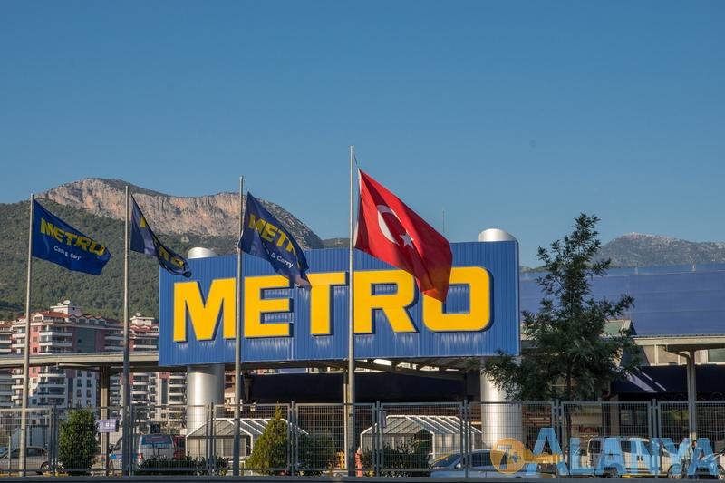 Магазин Metro, Аланья.  Аланья, Турция фото города.