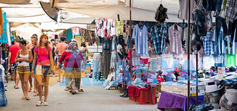Аланья, Турция. Фото. Рынок. Фрукты и овощи, цены.