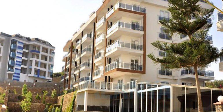 Квартира 1+1 в Аланье, Кестель. Территория жилого комплекса.