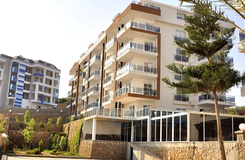 Квартира 1+1 с видом на море