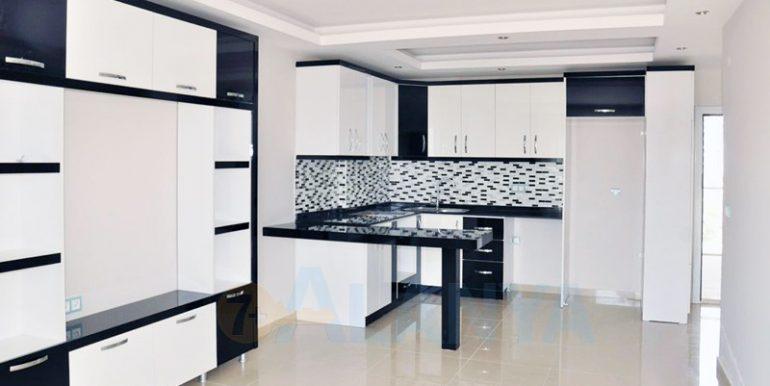 Квартира 1+1 в Аланье, Кестель. Кухня.