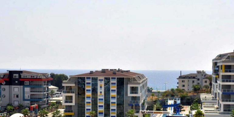 Квартира 1+1 в Аланье, Кестель. Вид с балкона.