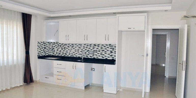 Двухуровневая квартира 2+1 в Аланье, Кестель. Кухня.