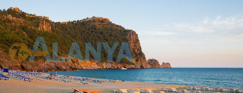 Аланья, Турция. Фото. Пляж Клеопатры