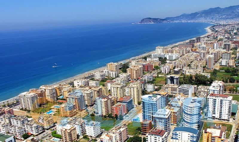 Турция, Аланья. Фото. Средиземное море. Пляжи Аланьи.