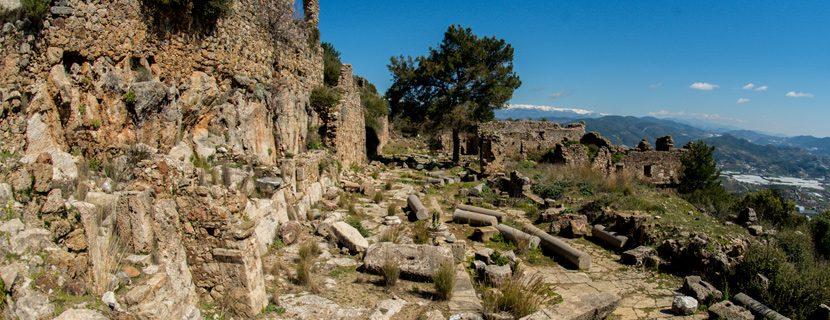 Сиедра - древний город в Аланье