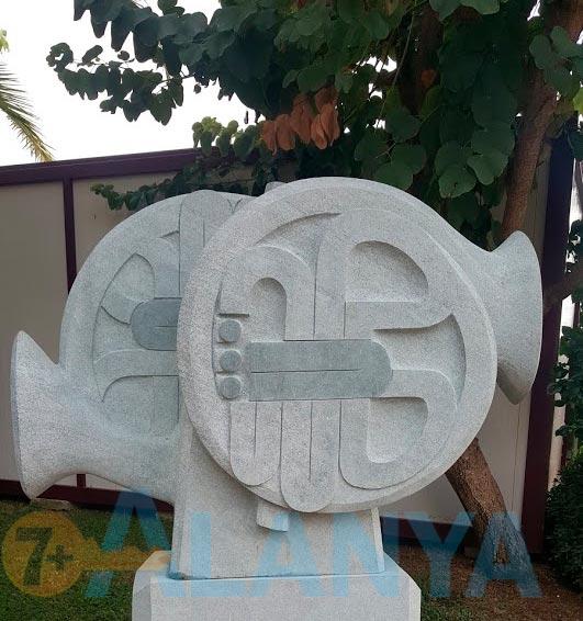 16 симпозиум каменной скульптуры в Аланье 2019