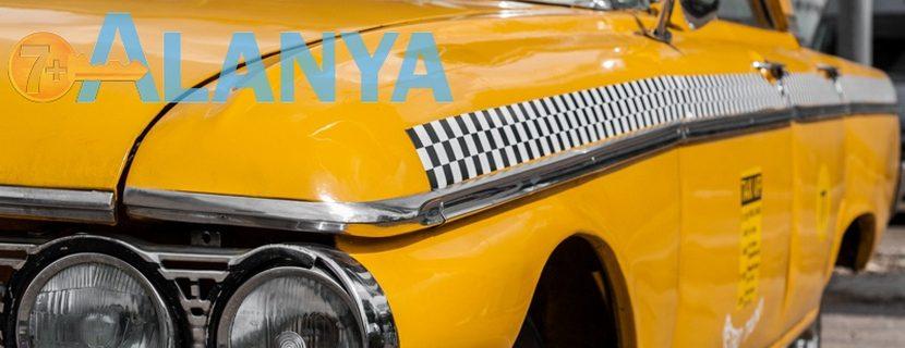 Аланья, Турция фото города. Такси