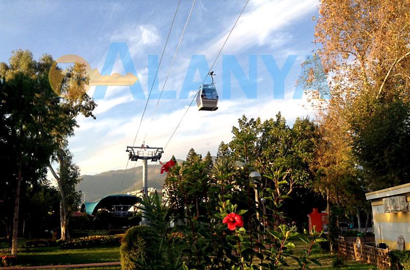 Alanya teleferik - канатная дорога в Аланье - станция