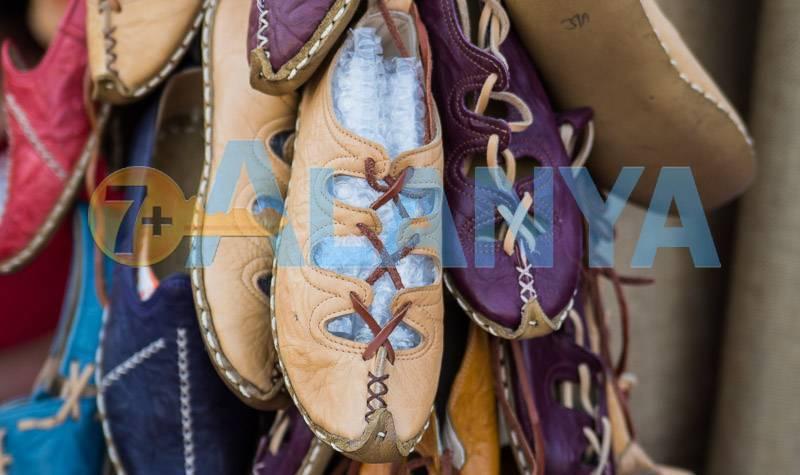 Сувениры из Турции, что привезти. Фото. Обувь ручной работы.