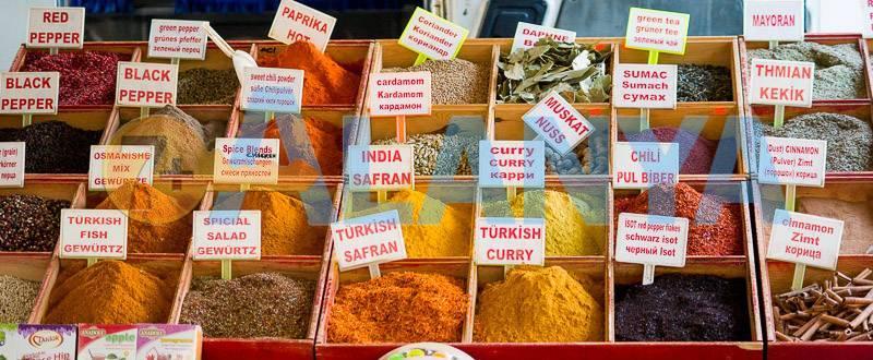 Сувениры из Турции, что привезти. Фото. Турецкие специи.