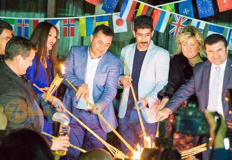 Аланья, Турция. Фото. 9 декабря встреча с мэром Аланьи.