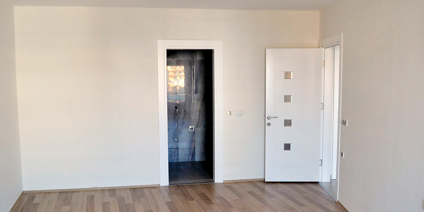 Двухкомнатная квартира в Махмутларе - комната