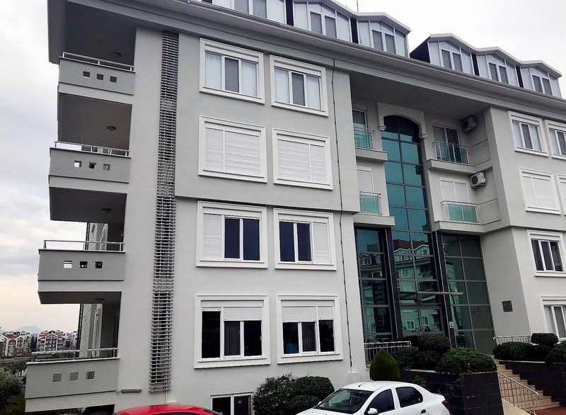Олив Сити - квартира 1+1 вид на дом