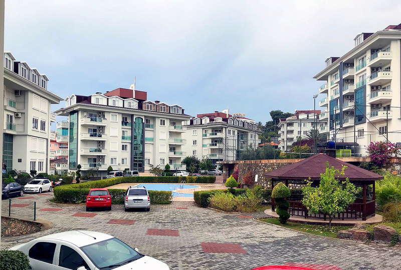 Олив Сити - квартира 1+1 территория комплекса