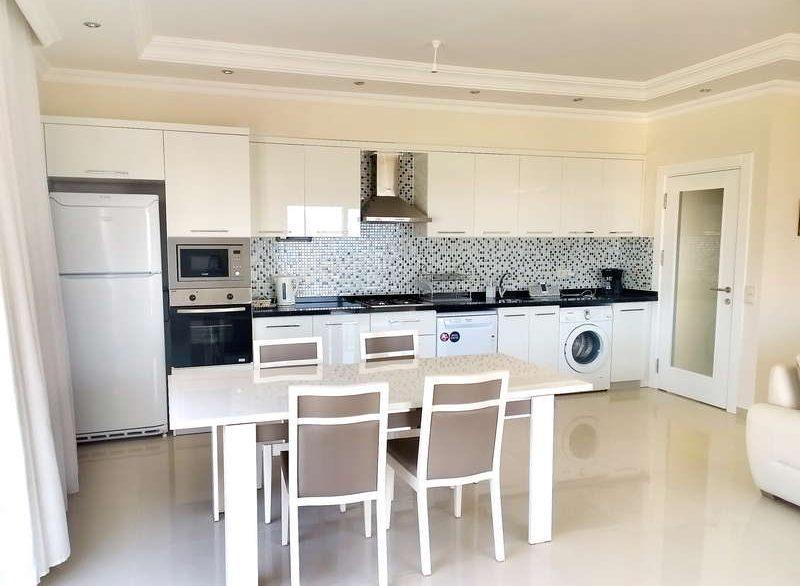 Апартаменты 3+1 - Кестель - Кухня