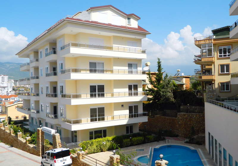 Апартаменты 3+1 - Кестель - жилой комплекс
