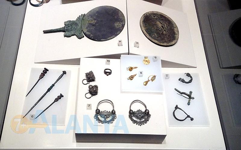Археологический музей в Аланье - экспозиция