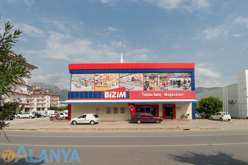 Магазин Bizim, Аланья.  Аланья, Турция фото города