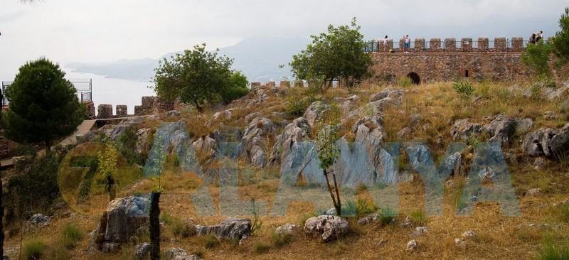 Аланья, Турция фото. Крепость. Внутри крепости.