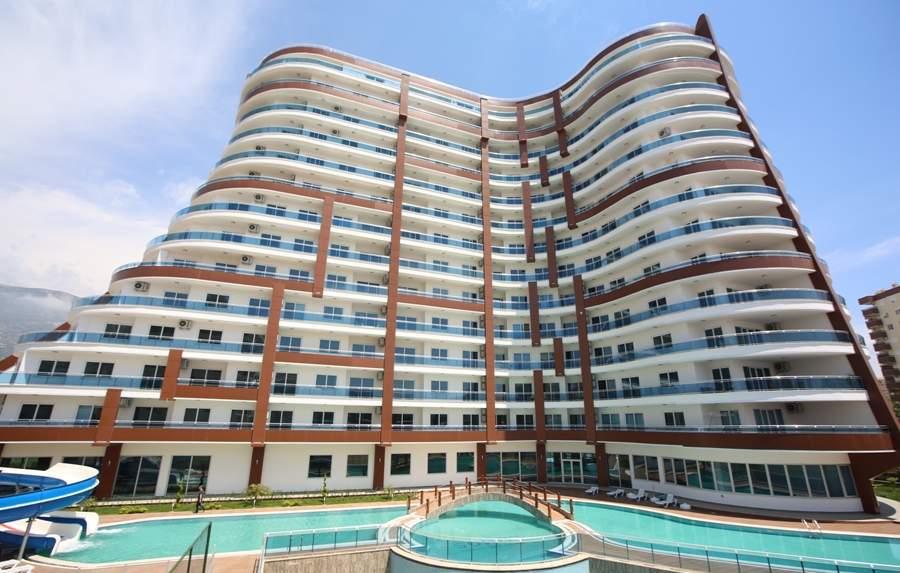 Купить квартиру в жилом комплексе с удобствами отеля. Недвижимость в Махмутларе