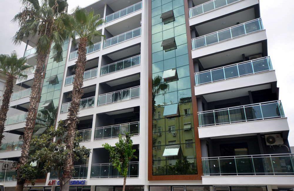 Новый жилой комплекс в центре города Аланья