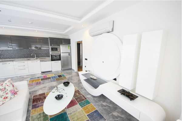 Купить квартиру с комплектом бытовой техники в Махмутларе
