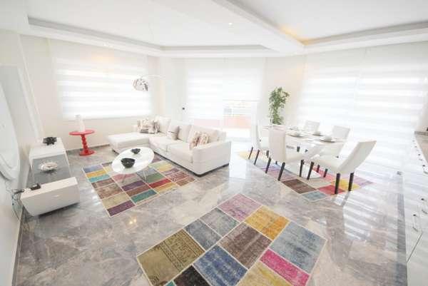 Квартира с новой мебелью в Махмутларе. Недвижимость под ключ