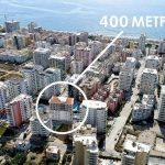 Трехкомнатная квартира в Махмутларе - 400 метров до моря. Новый дом