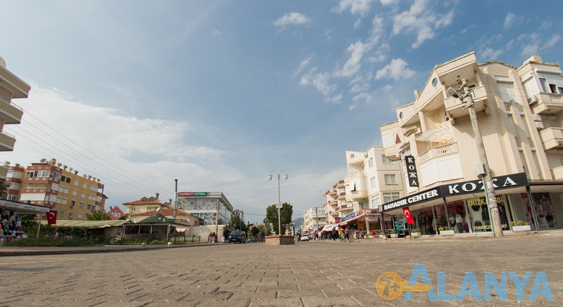 Аланья, Турция фото города. Прогулочная улица, Оба.