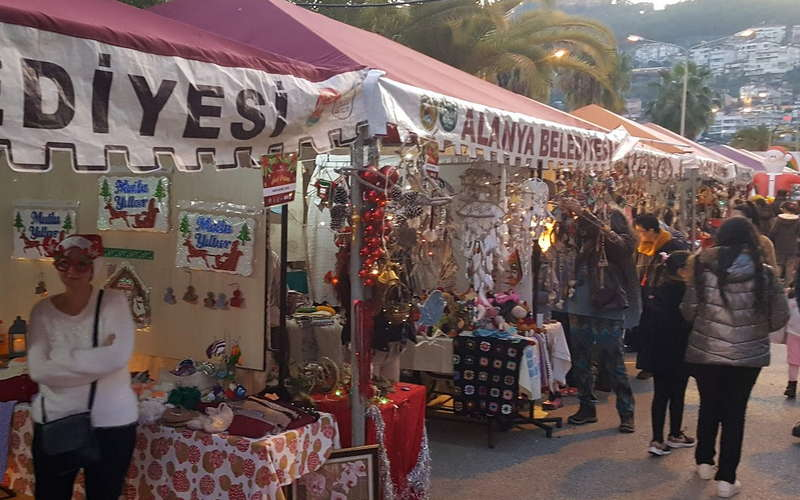 10 рождественская ярмарка в Аланье 2019